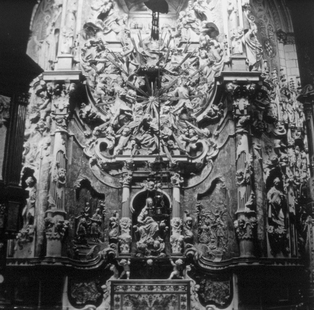 Transparente de la Catedral en los años 20. Fotografía de Daniel Dufol Álvarez