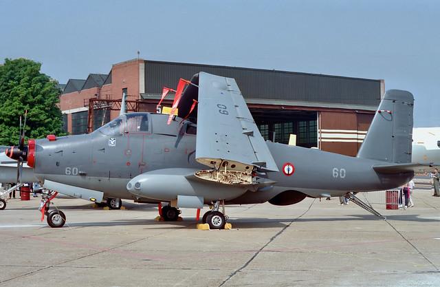 60 Breguet 1050 Alize Aeronavale RAF Mildenhall May 1992