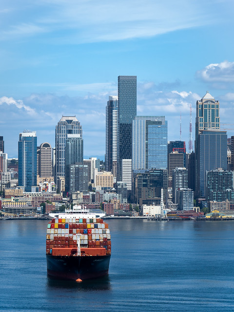 Seattle Skyline, Spring 2021