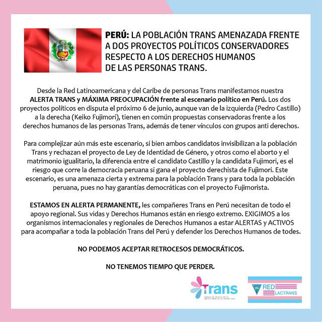 Elecciones Perú Junio 2021