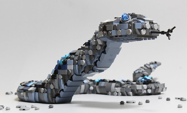 The Blue Sand Viper