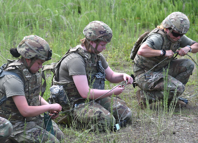 229th BEB conducts demolition training at Fort A.P. Hill