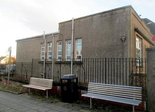 Side of Art Deco Bank, Kelty