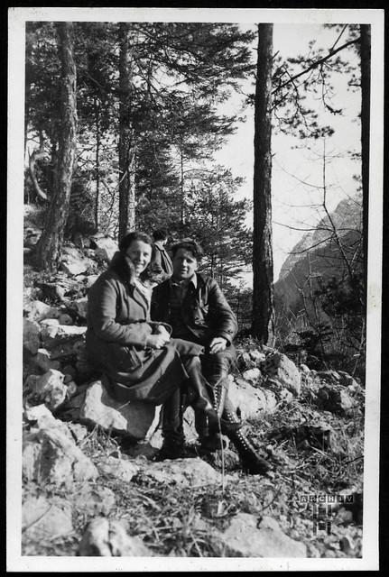 ArchivTappen24AAL4l77 Benno Bauer, Ausflug in die Bergwelt, München, 1920er