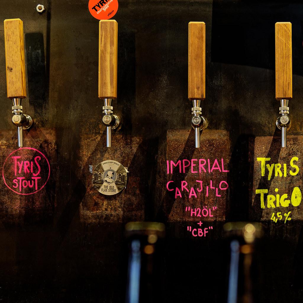 Beer on Tap (Tyris on Tap - Valencia) Olympus OM-D EM1.2 & M.Zuiko 12-100mm F4 Pro Zoom