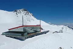 Restauce Eissee na Mölltalském ledovci