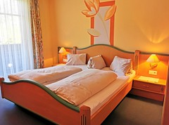 Pokoj hotelu Flattacherhof ve Flattachu