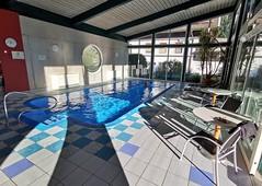 Wellness hotelu Flattacherhof ve Flattachu