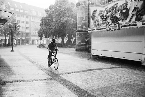 Regen und Rad