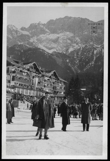 ArchivTappen24AAL4l76 Benno Bauer, Winterurlaub, München, 1920er