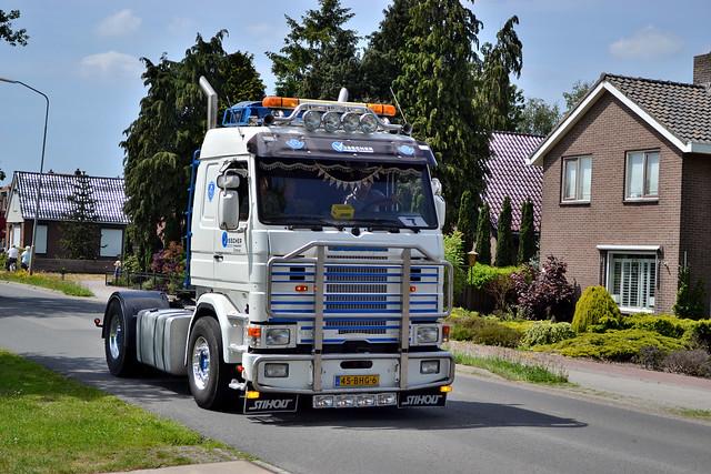 Scania 143M Visscher Transport Emmen