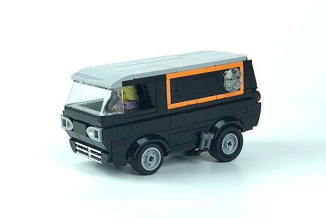 1963 Ford Econoline custom van