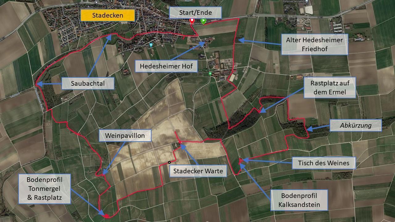 Making of Hiwweltour Stadecker Warte - Tracking der Tour