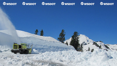Virtual Background - Artist Point snow removal