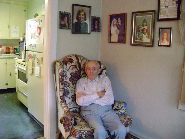 Dad, June 2009