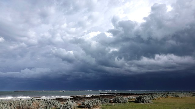 A stormy day at the Bay!