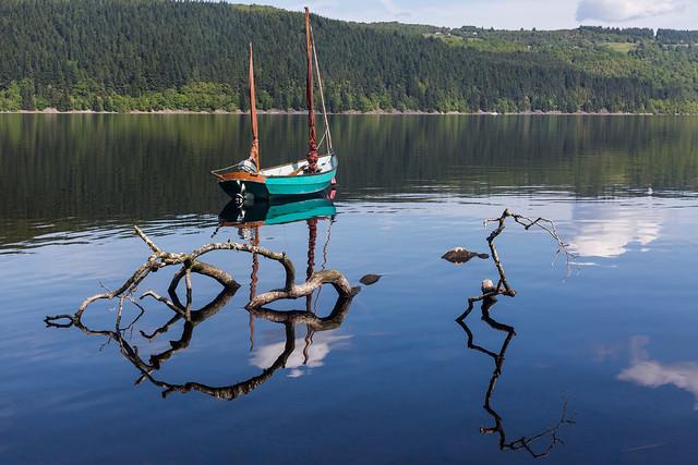 Foyers Bay, Loch Ness, Scotland