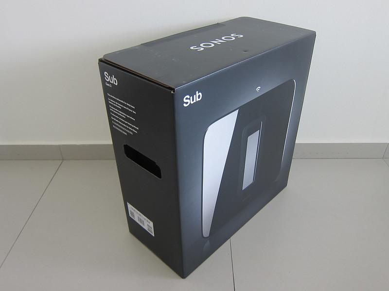 Sonos Sub (Gen 3) - Box