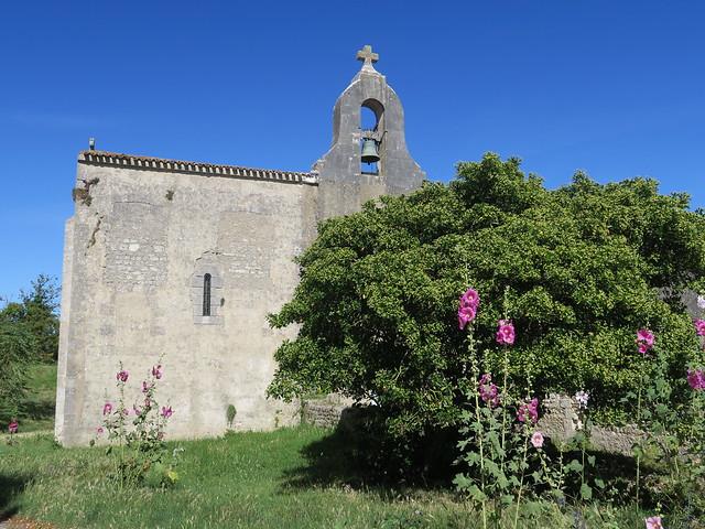 Eglise Saint-Martin (XIe-XIIe), Île-d'Aix (17)