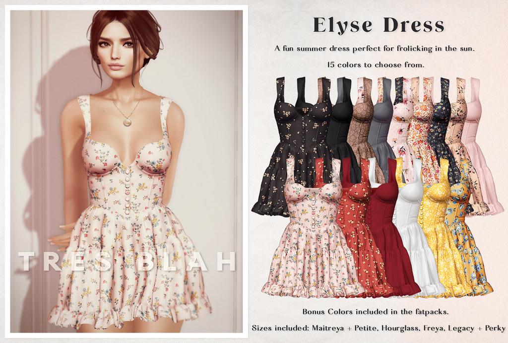 Tres Blah – C88 June 2021 Elyse Dress