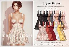 Tres Blah - C88 June 2021 Elyse Dress