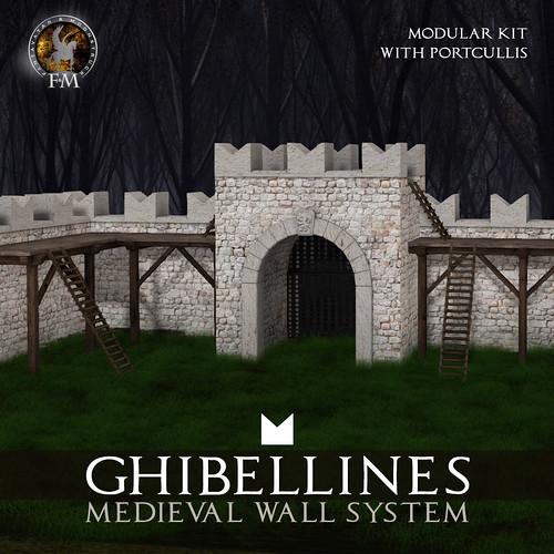 F&M Ghibelline Medieval Wall System