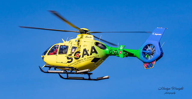 Scotland's Charity Air Ambulance (SCAA) EC135-T2