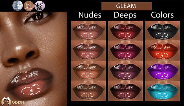 Gleam lips-@ Orsy event