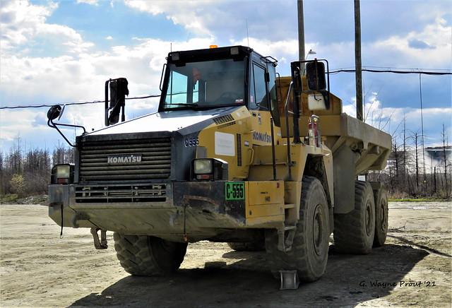 Komatsu HM350 Articulated Dump Truck