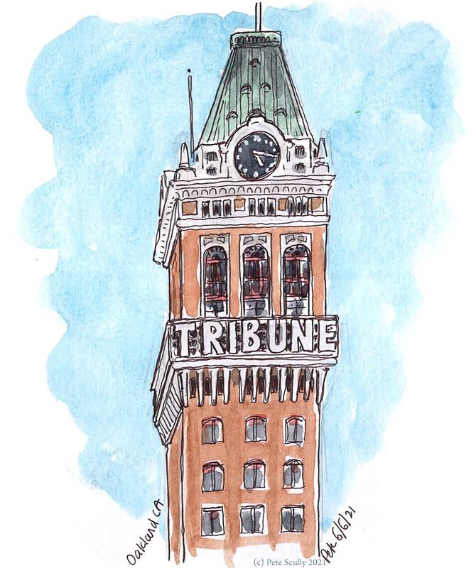 Oakland Tribune tower