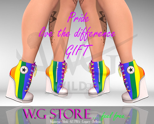 W.G STORE - Sneakers PRIDE