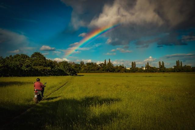 Rainbow…