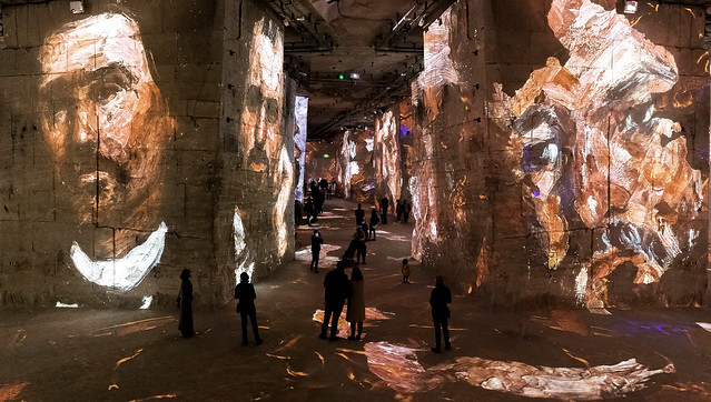 Expo Cézanne aux Baux