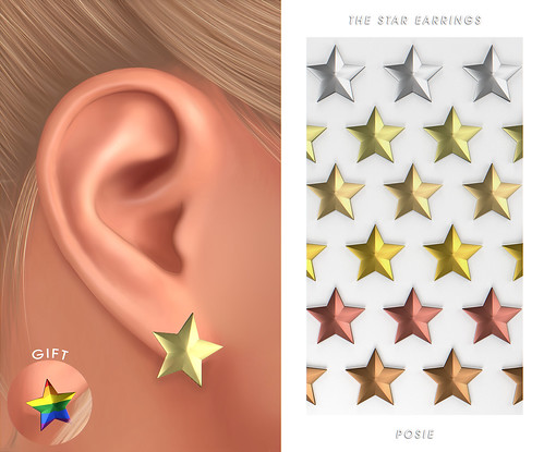 The Star Earrings x Mainstore