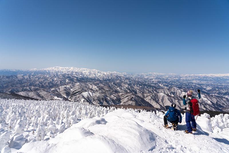 西吾妻山の集合写真