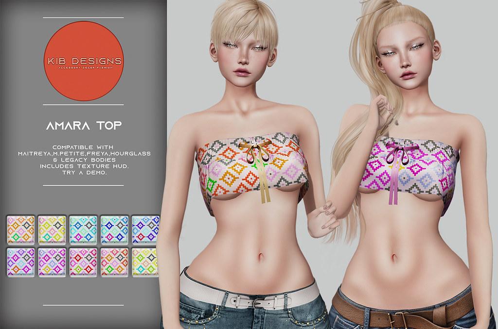 KiB Designs - Amara Top @4Seasons Event