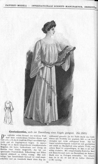 Favorit Masken-Album 1909 ill pag 34