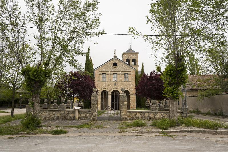 Vellosillo, iglesia del Santísimo Cristo del Sepulcro.