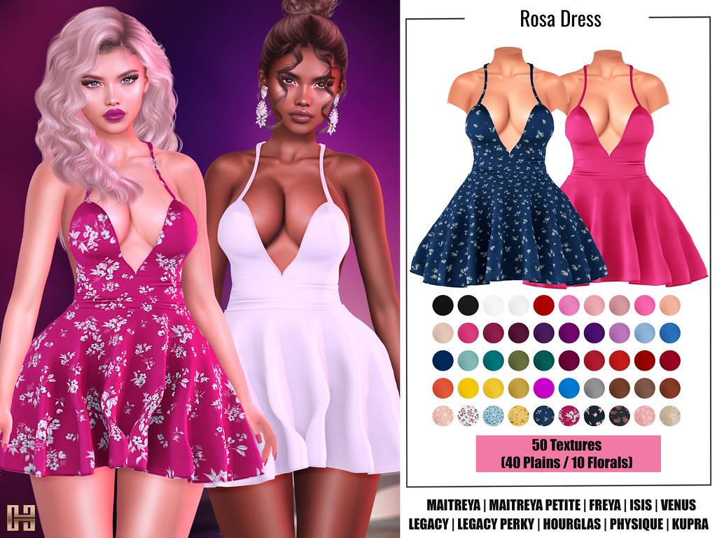 Hilly Haalan – Rosa Dress