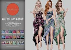 KiB Designs - Kiki Summer Dress @ORSY Event 9th June
