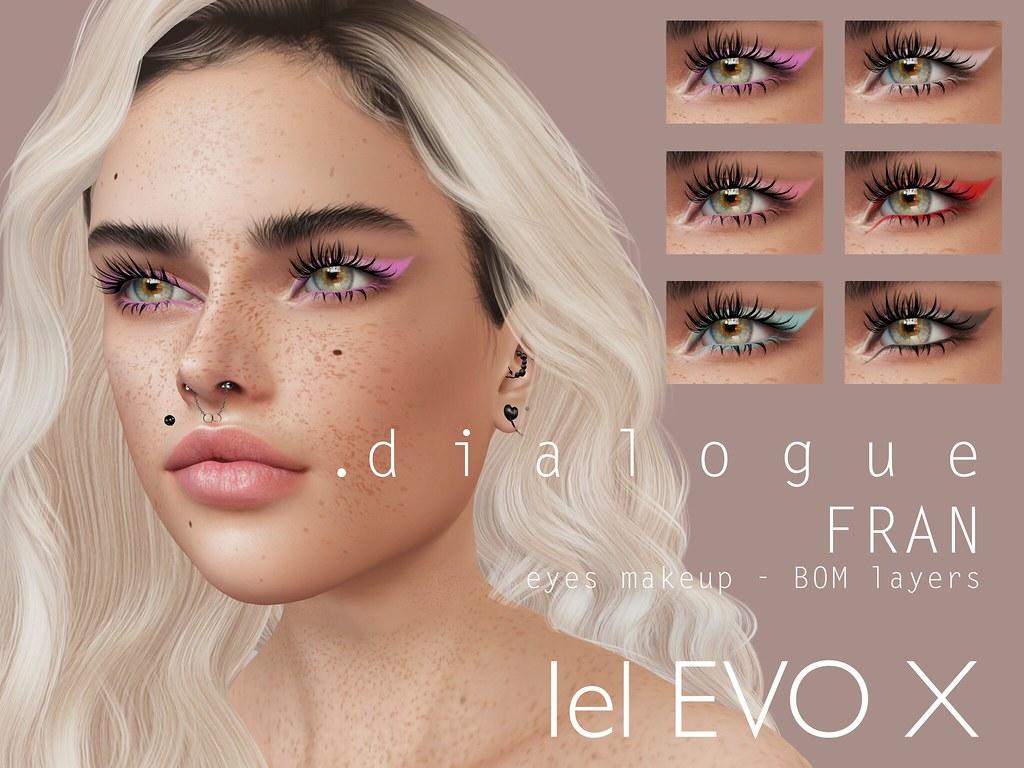 Dialogue FRAN eye makeup x UNIK event