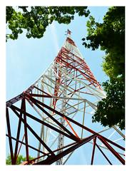 metal communication tower