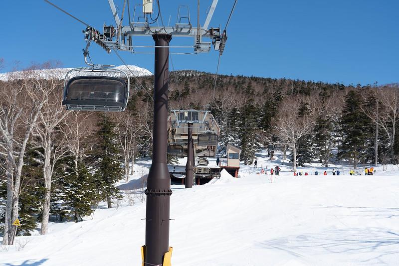 グランデコスキー場のリフト
