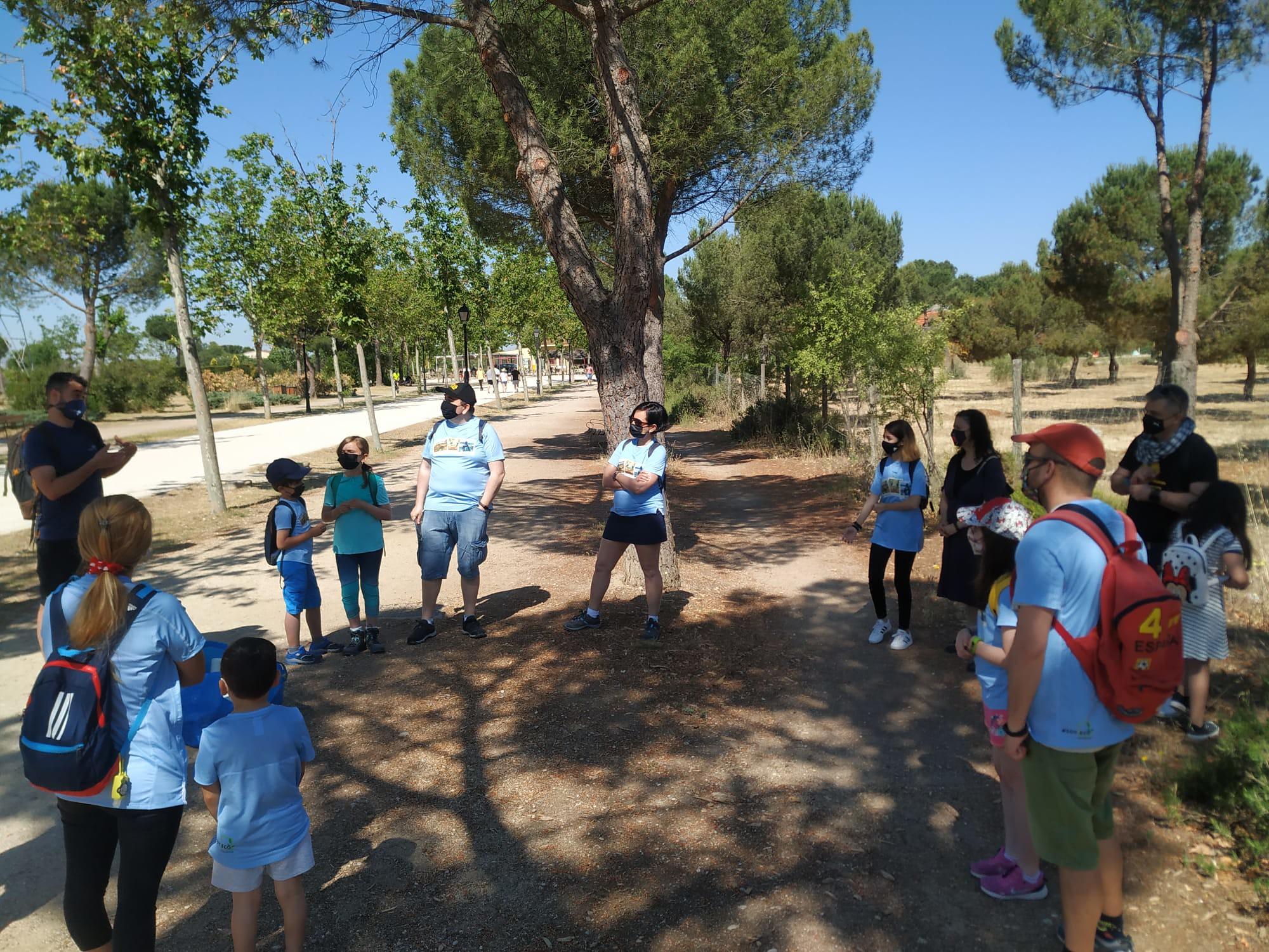 Charla informativa en Parque Polvoranca