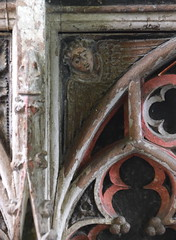 Tottington screen: angel (15th Century)