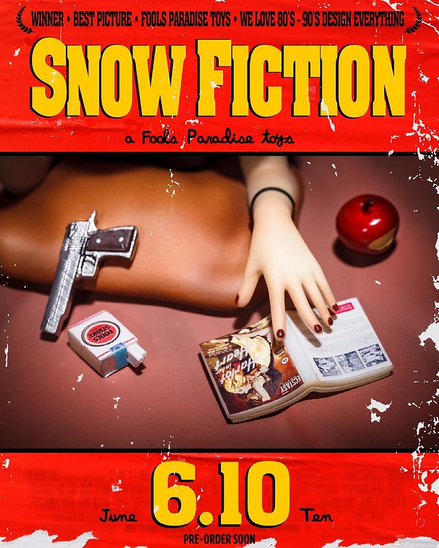 SNOW FICTION Teaser from Fools Paradise on TOYSREVIL