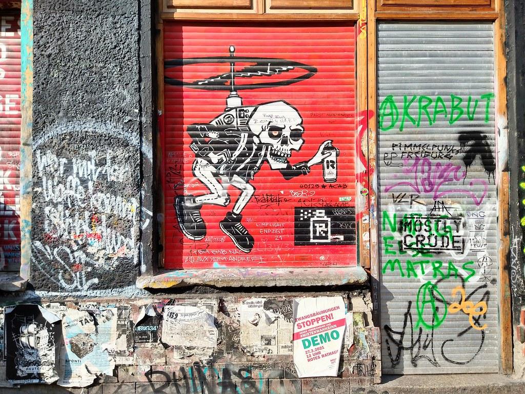 Berlin Friedrichshain 2021