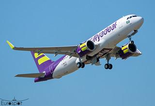 F-WWTO / HZ-FAN Airbus A320-251N FLYADEAL s/n 10255 - First flight * Toulouse Blagnac 2021 *