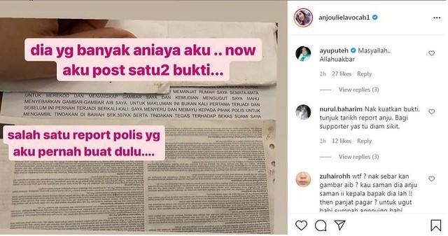 Bekas Suami Zarina Anjoulie Akhirnya Ditahan Polis, Ini Kata-Kata Padu Eilyas Azhar