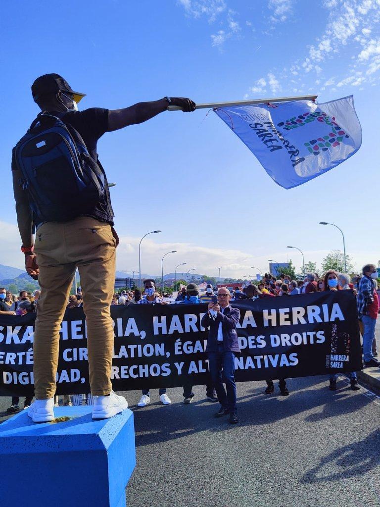 Mani IHS Puente Internacional Foto: IHS